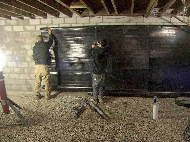 17 best images about mike holmes on homes on pinterest for Dry basement