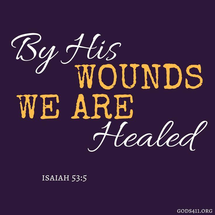 Isaiah 53:5 | Bible Verses