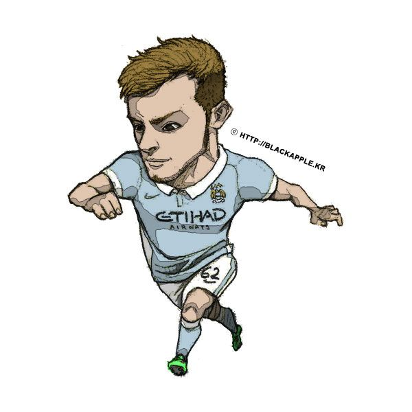 Manchester City No.62 Brandon Barker Fan Art