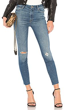 New MOTHER High Waisted Looker Ankle Fray Jean online. Find great deals on BCBGeneration Clothing from top store. Sku djnp27100qllo91548