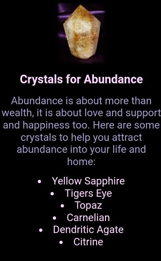 CRYSTAL HEALING Use these powerful Crystals to attract Abundance. http://www.inner-being.eu