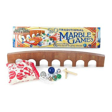 20 Traditional Marble Games - From Lakeland