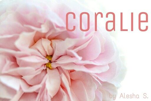 Coralie / French: coral