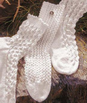 Muster für Sommer Baumwollsocken (sieht bestimmt auch bei kleinen Söckchen sehr schön aus)