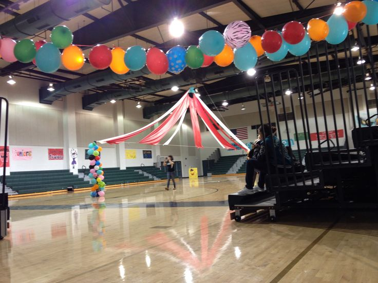 Quot The Greatest Show On Turf Quot Circus Theme Homecoming Rally