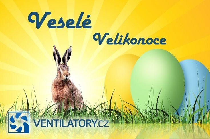 Vážení zákazníci, Veselé #Velikonoce a úsměv od ucha k uchu, užijte si jarního #vzduchu. Tým #VENTILATORY.cz
