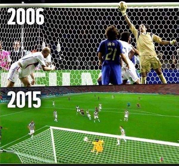 Wspaniały bramkarz pomimo upływu lat jest wciąż wielki • Gianluigi Buffon w finale Mistrzostw Świata i Ligi Mistrzów • Zobacz >> #buffon #football #soccer #sports #pilkanozna