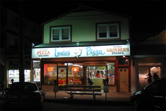 Louie's Pizza, Rehoboth Beach - The best of Delaware Pizza (its where the locals go for pizza)