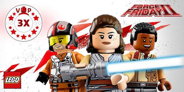 Star Wars Force Friday II chez LEGO : C'est parti !: En avant pour le Force Friday II version LEGO avec quelques offres… #LEGO