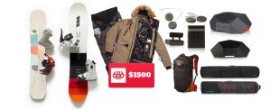Win A Snowboarding Trip To Utah, Snowboarding Gear And $1,500 Shopping Spree in this giveaway that ends January 31st, 2018!  #giveaway #snowboarding #shopping #contest #sweepstakes #travelgoals #vacation #freebie