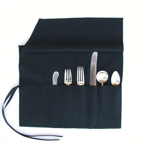 High Quality Anti Tarnish Flatware Roll   Sterling Silver Flatware Storage, Monogrammed Storage  Bags, Silverware Roll