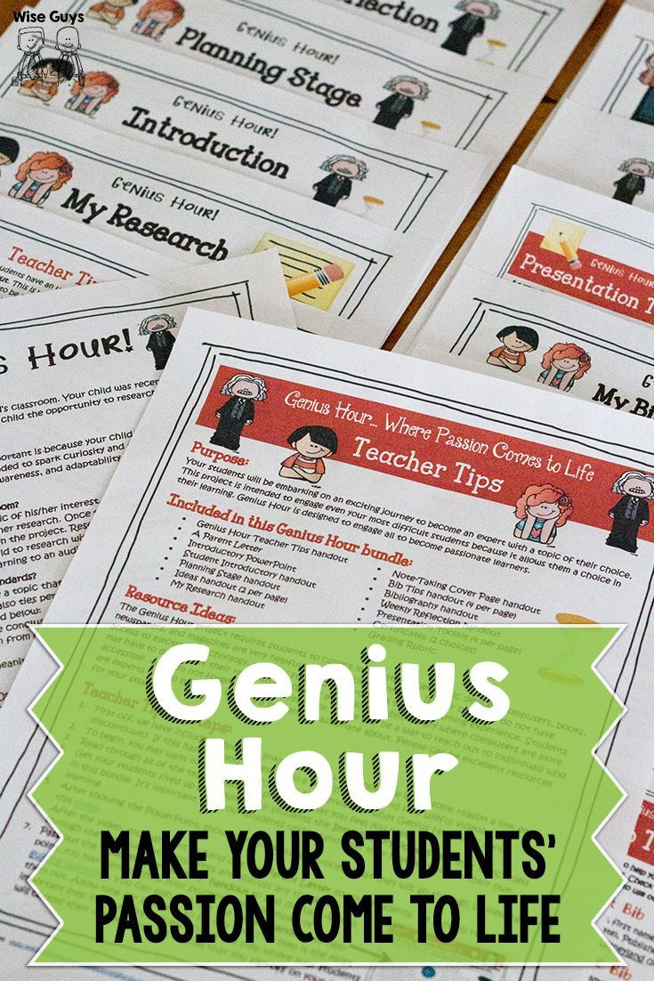 Fire up your students' passions with the Genius Hour! It's a guaranteed hit with your students.: