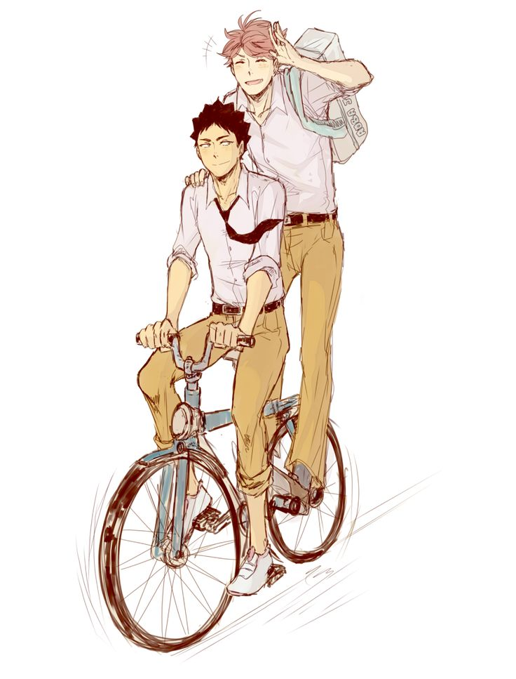 Oikawa x Iwaizumi #HQ - nihui-223art: I have a new tablet and I'm suffering