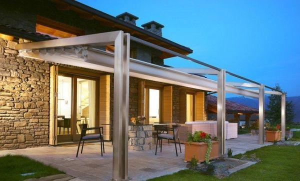 Alu Pfosten Balken-Terrassen überdachung