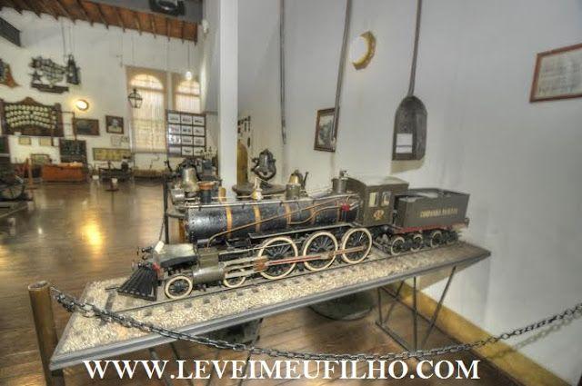 LEVEI MEU FILHO: MUSEU DA COMPANHIA PAULISTA –JUNDIAÍ – SP