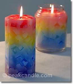 DIY Candles: DIY Chunk Candles