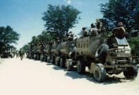 "32 ""Buffalo"" Battalion, a truly elite and extraordinary battalion of the South African Defence Force. 32 Battalion was an elite unit consisting of former FNLA guerrillas from Angola integrated with South African Officers to become acknowledged as the best fighting unit in the SADF since WWII and was also the first unit to receive its colours in an operational area."