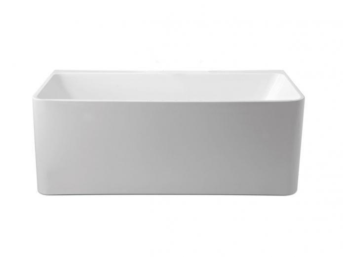 Mizu Soothe 1500 Back to Wall Freestanding Bath