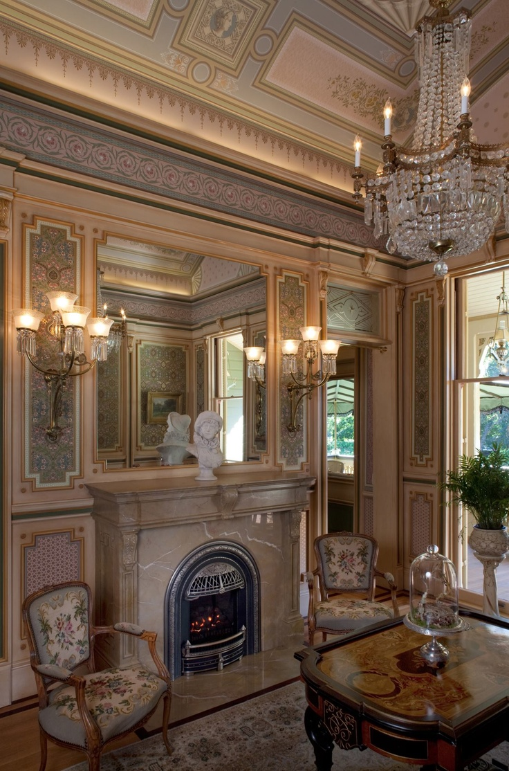 31 best mcdonald mansion images on pinterest victorian interiors french revival styles tended to have feminine connotations and were often applied to