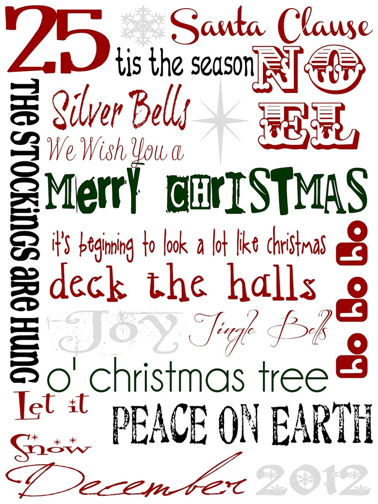 { Ds ThInGs }: Christmas Printable – FREE