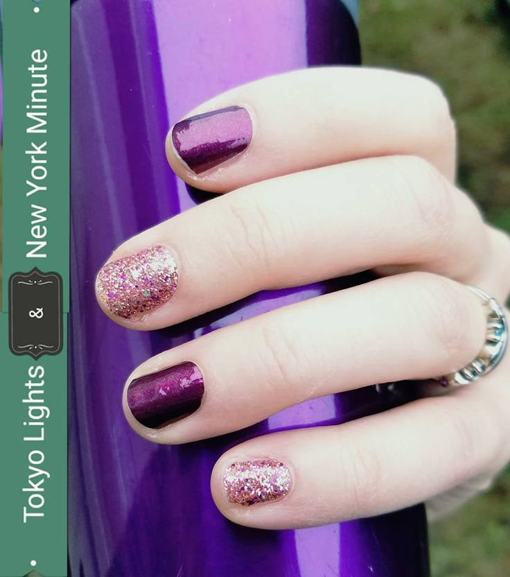 Street Light Colors: Tokyo Lights And New York Minute Color Street 100% Nail