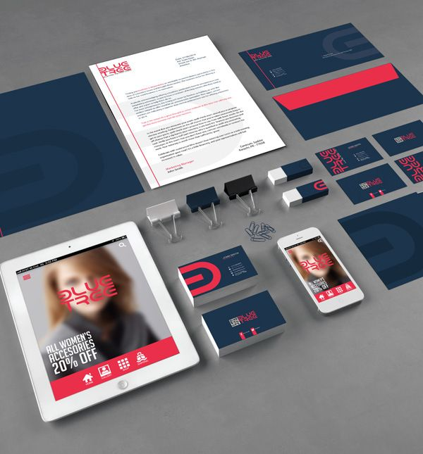 Corporate Branding PSD Template