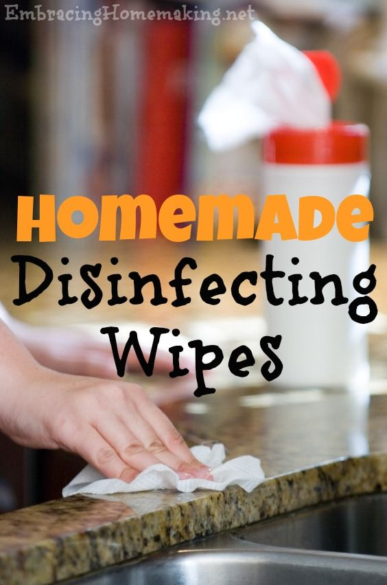 1000 Ideas About Homemade Disinfecting Wipes On Pinterest