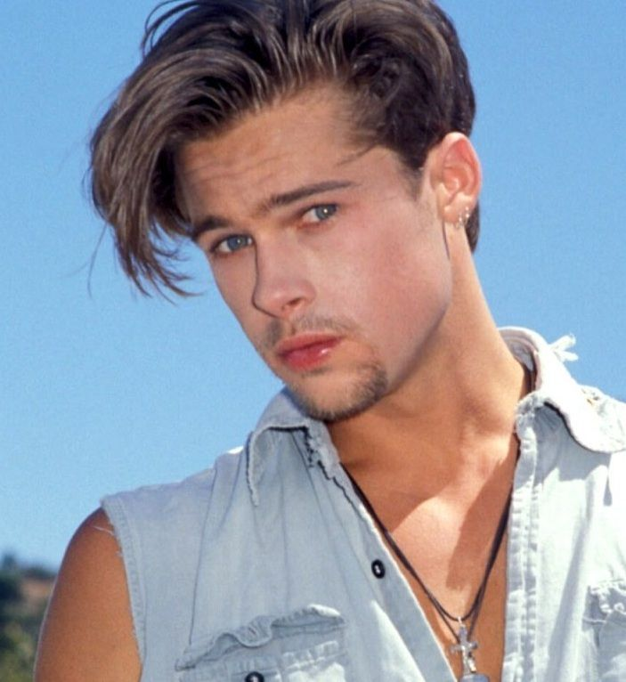 Brad Pitt Hairstyles 339 Best Brad Pitt Images On Pinterest  Brad Pitt Angelina Jolie