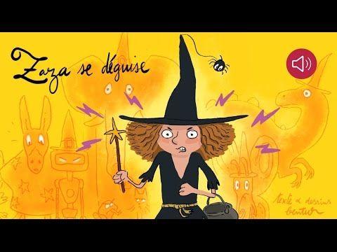Histoire pour enfants - Zaza se déguise - Livre animé et audio - YouTube