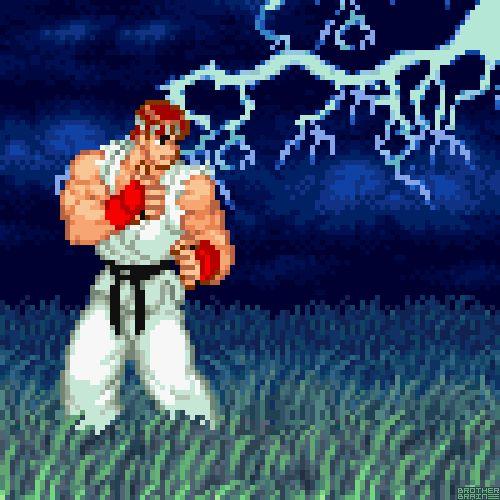 RyubyBrother Brain★Street Fighter Alpha 2 (SNES) Capcom 1996.