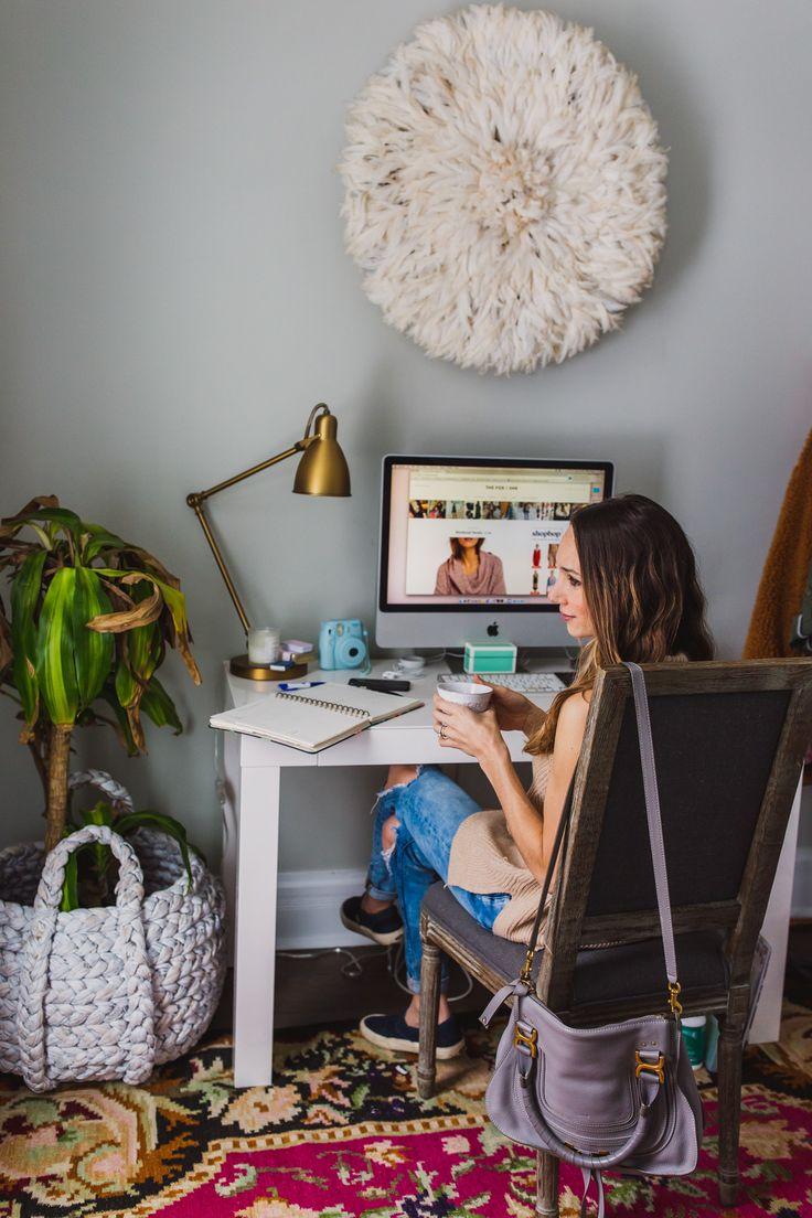 Best 25 Bohemian Office Ideas On Pinterest Office
