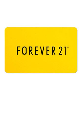 Forever 21 Gift Card I could use a million of these.  Favorite store anything here would work