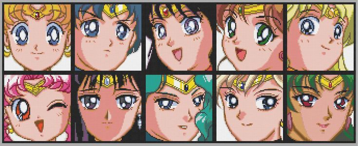 This is one of the many patterns I have made. In this one, the awesome Sailor Moon is featured! It takes me a bit of time to make my patterns, so please only use this for your personal use. If you ...