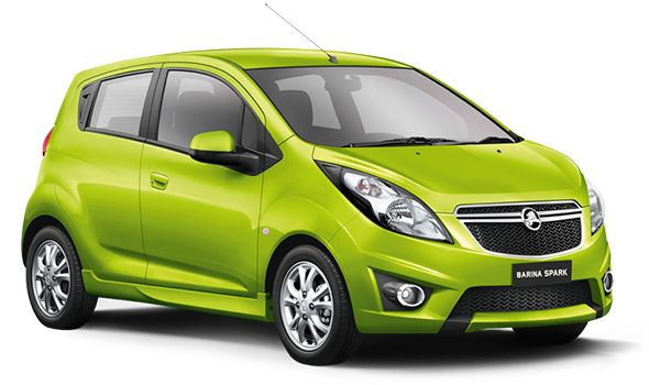 Holden Barina Spark - Range - Small Car - 2015