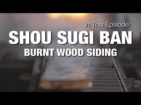 shou sugi ban: the traditional art of charred wood - Aamodt / Plumb Architects, Cambridge MA and Austin TX