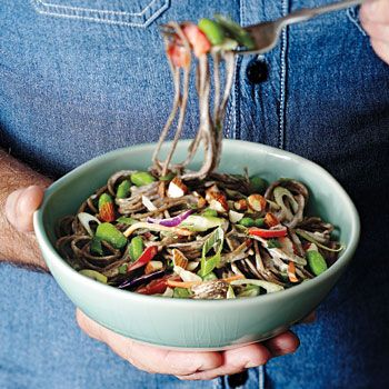 Soba Noodle Salad with Broccoli Slaw