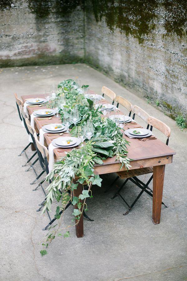 organic farm to table wedding inspiration - photo by Julie Cahill Photography http://ruffledblog.com/organic-farm-to-table-wedding-inspiration