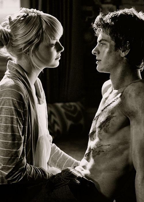 Emma Stone & Andrew Garfield
