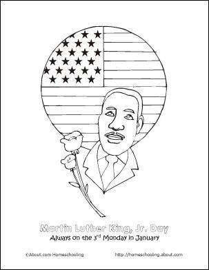coretta scott coloring pages - photo#7