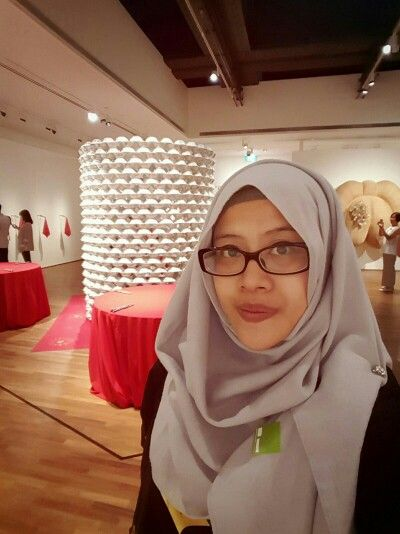 #hijab A day at the #gallery #nationalgallerysingapore