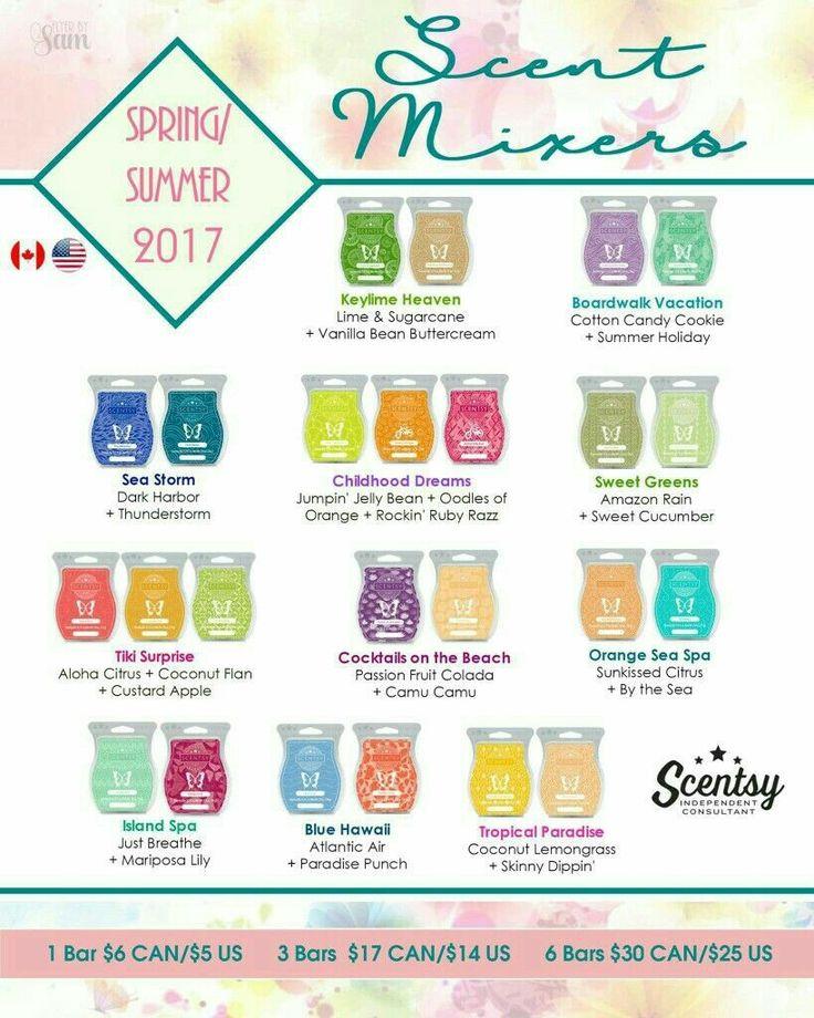 Spring/Summer 2017 mixer ideas