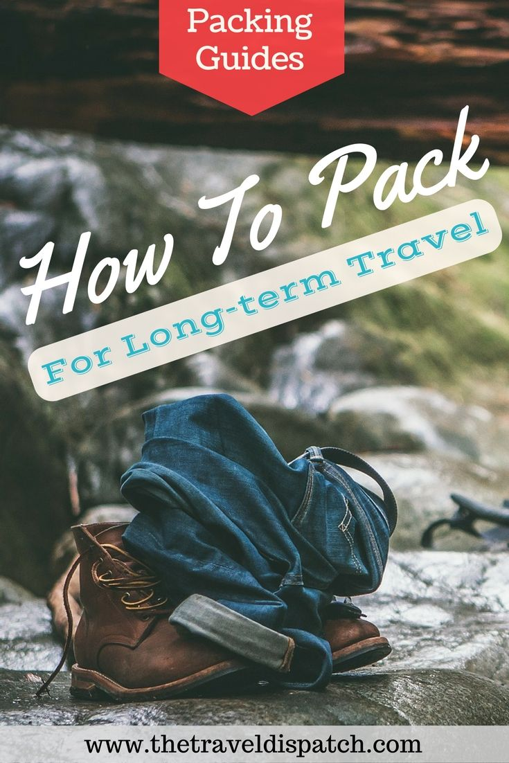 How to Pack Your Whole Life Into a Carry-on Backpack - A comprehensive guide on what to bring for a longterm, round the world trip.