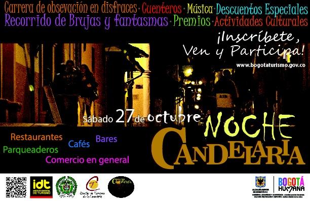 #CandelariaDespierta para este sábado 27 de octubre