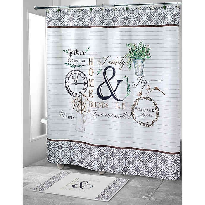 Avanti Modern Farmhouse Shower Curtain In 2020 With Images