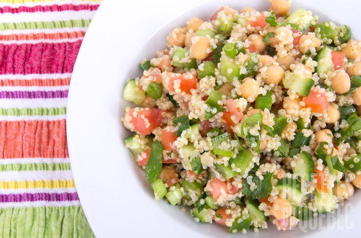 Salade de quinoa #lunch #sante #rentree