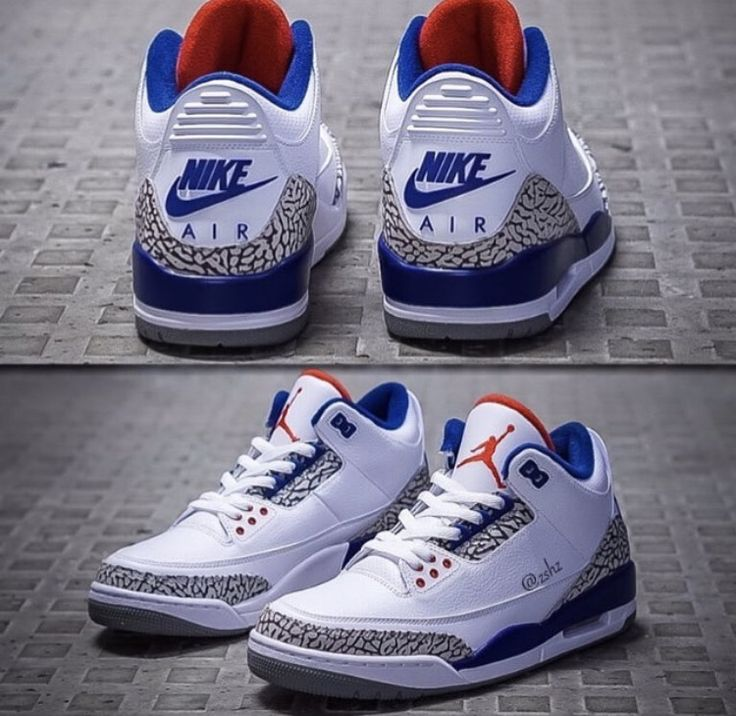 Jordan True Blue 3s More
