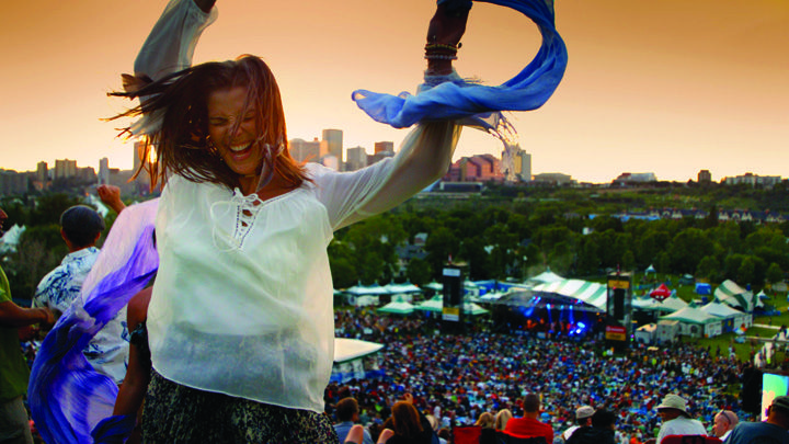 Check out awesome music festivals this #summer in #Edmonton #Alberta