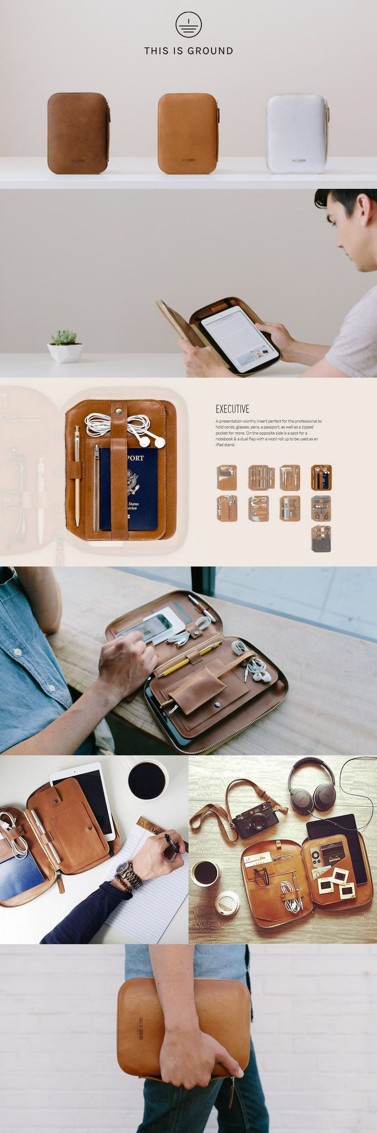 【THIS IS GROUND】Mod Tablet 2-Mini-Executive-Toffee