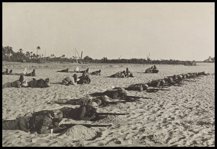 Manoeuvres near El Arish, 1916. LC-DIG-ppmsca-13709-00066 (digital file from original on page 18, no.65) | Library of Congress