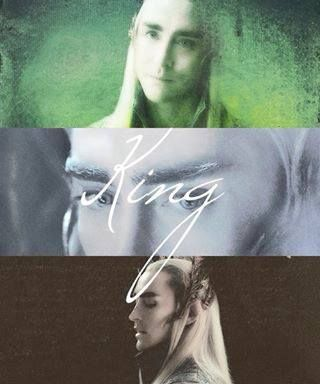 King Thranduil... am I the only one super excited to see him in DOS??